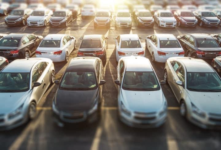Travaux de reconfiguration des parcs autos