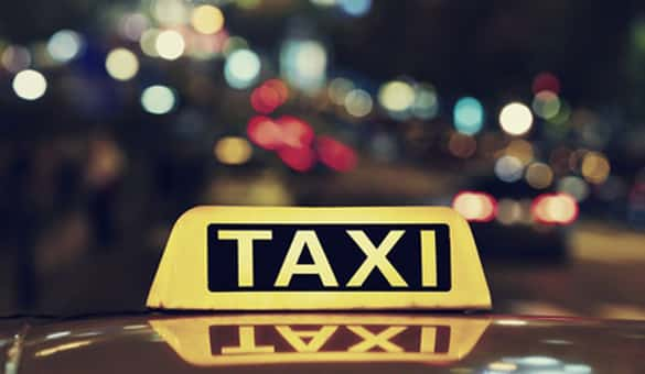 Taxi or taxi pick up