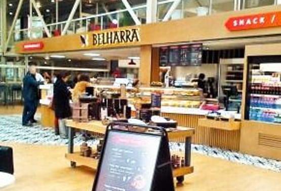 Nouveau restaurant à l'aéroport