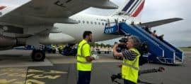 Reportage de TF1 à l'aéroport : Quelques rectifications