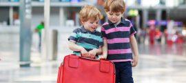 Voyage d'enfant mineur en avion